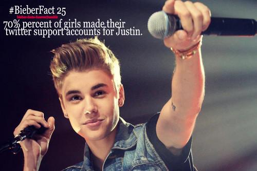 #Bieberfacts!