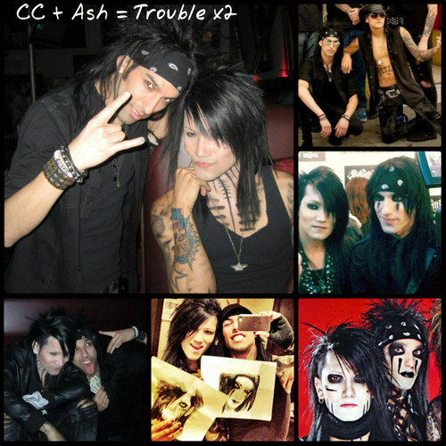 Christian Coma hình nền probably with anime and a portrait titled ☆ CC & Ash ★