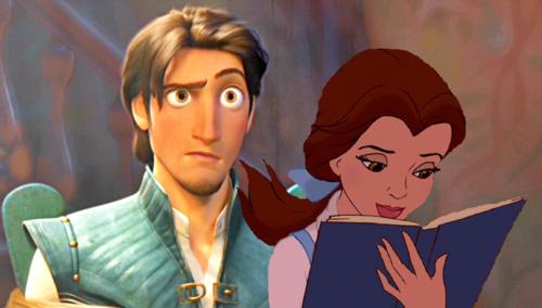 """""""Er, Belle? A little help?"""""""