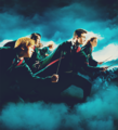 Harry, Ron and Hermion