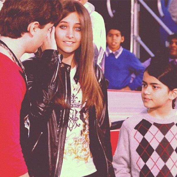♥ Prince Jackson, Paris Jackson and Blanket Jackson ♥