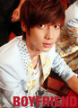 [STAFFDIARY] 1st Mini Album Love Style Fansign event (Ver 2) - Kwangmin - boyfriends-k-pop photo