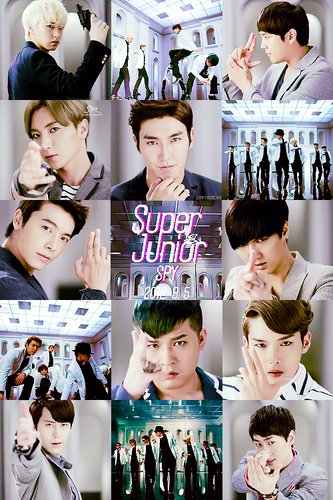 Super Junior wallpaper called ♥Super Junior SPY!♥