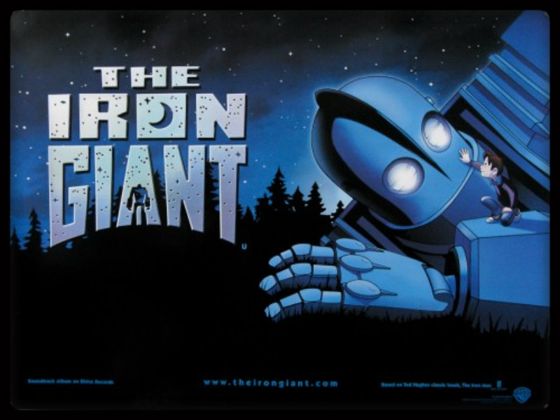 the iron giant the iron giant wallpaper 31658152 fanpop
