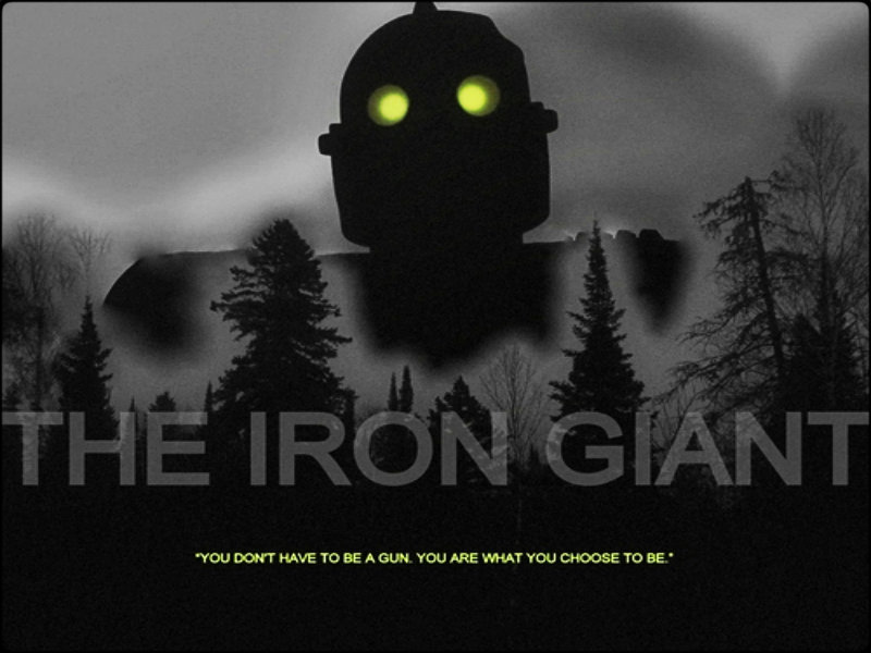 the iron giant the iron giant wallpaper 31667645 fanpop