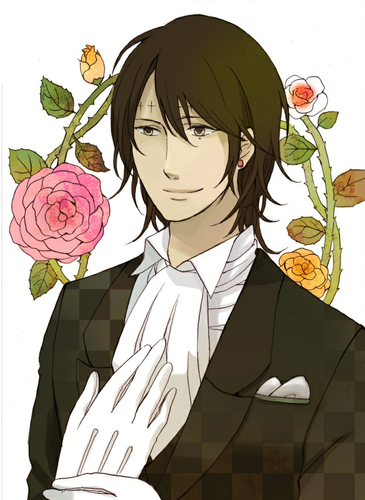 haremaster99 karatasi la kupamba ukuta probably containing a business suit and anime entitled ~Tyki Mikk~