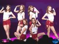 120425 A PINK Performance at M Countdown Hello Japan