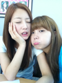"120505 ""93Line"" A Pink Bomi and Eunji's Wagle Update"