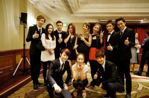 120720 EXO-K Korean Culture Festival in London Press Conference