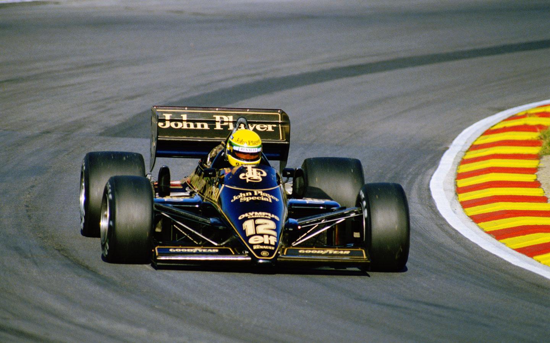1985 British Gp Ayrton Senna Fondo De Pantalla 31674176