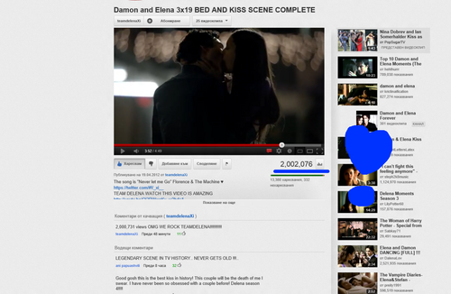 2 Million views in less than 4 MONTHS!❤ - damon-and-elena Photo