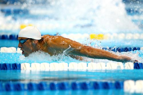 2012 U.S. Olympic Swimming Team Trials - hari 1