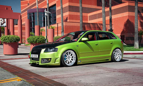 AUDI A3 TUNING wallpaper with a saloon and a station wagon in The Audi ...
