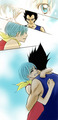 After Buu pt.1,2,3 and 4 - vegeta-and-bulma photo