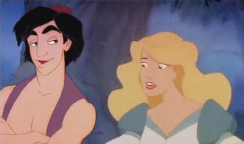 Aladdin and Odette <3