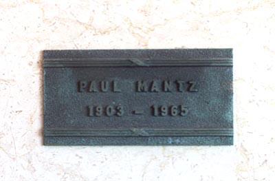 Albert Paul Mantz (August 2, 1903 – July 8, 1965)