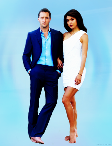 Steve and Kono wallpaper containing a well dressed person called Alex & Grace