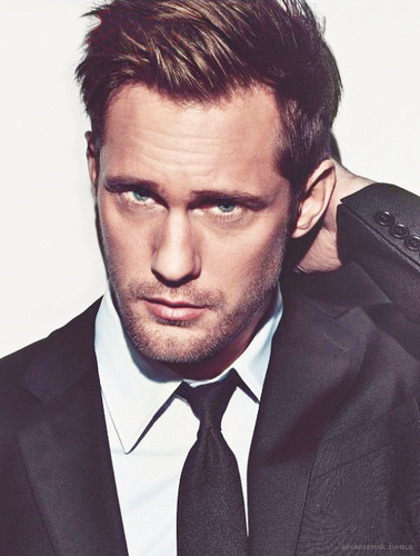 Alexander Skarsgard in GQ (UK 2012)
