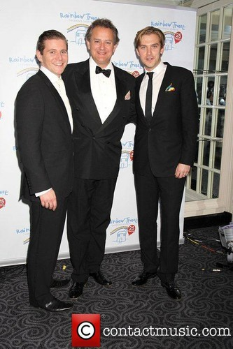 Allen Leech, Hugh Bonneville and Dan Stevens