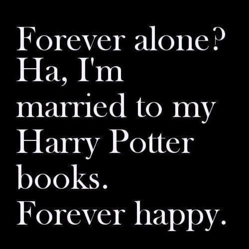 Alone? HA!