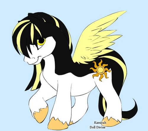 Amber as a Pony!