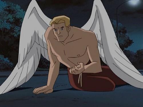 """Angel / Warren Worthington III from """"X-men : Evolution"""""""