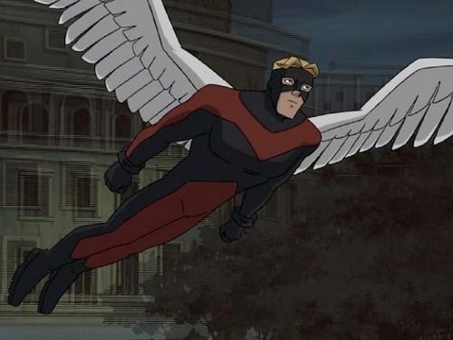 """malaikat / Warren Worthington III from """"X-men : Evolution"""""""