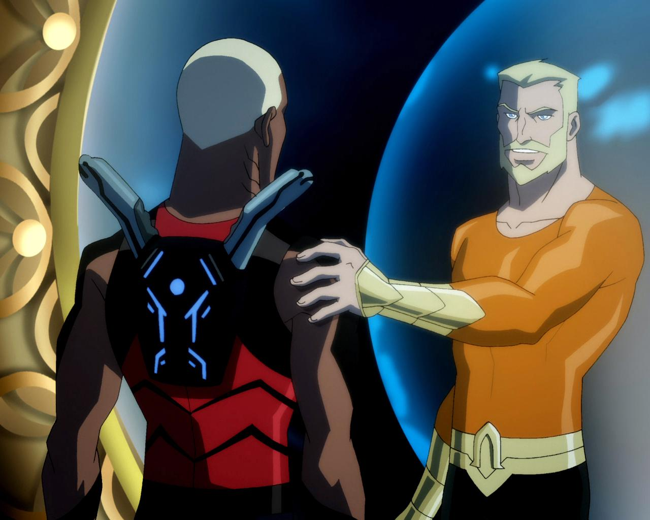 The human race must know that there are still heroes defending them - Aqualad Aqualad-and-Aquaman-kaldurahm-31692275-1280-1024
