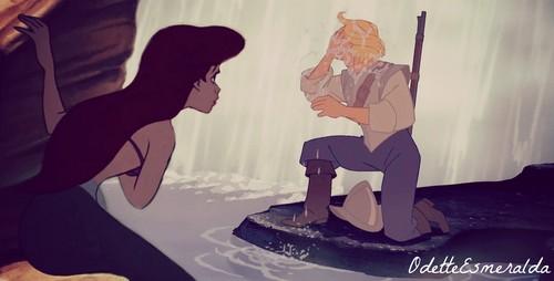 Ariel sees John