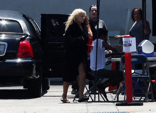 Arrived At The Studios In Burbank (27 July 2012)