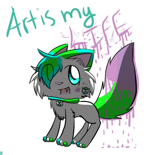 Art is my life!~