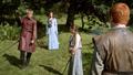 Arya and Sansa with Joffrey