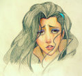 Asami Crying - avatar-the-legend-of-korra fan art