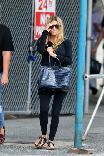 Ashley Olsen in Tribeca 27 july
