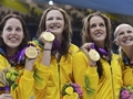 Australia wins women's 4x100m freestyle relay - the-olympics photo