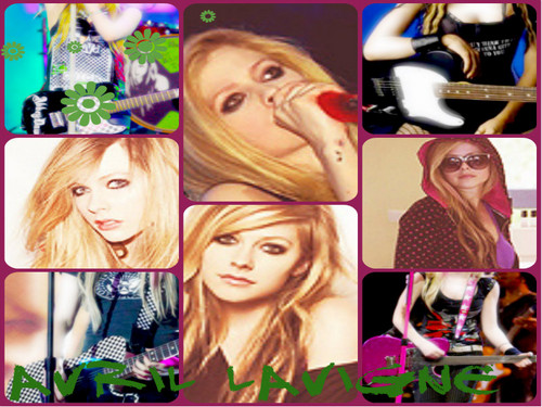 Avril Lavigne wallpaper possibly with anime titled Avril Lavigne ~
