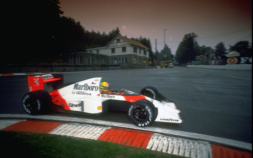 Ayrton Senna 1989 Spa