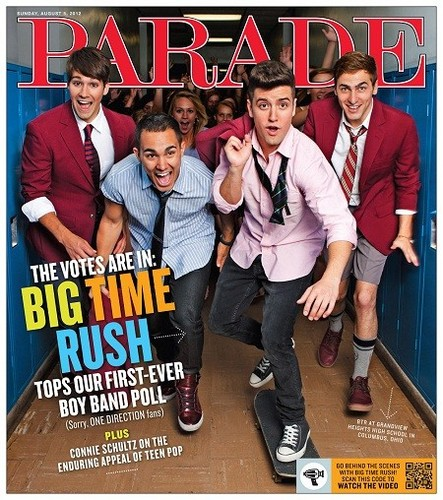 BTR's Parade Magazine Photoshoot