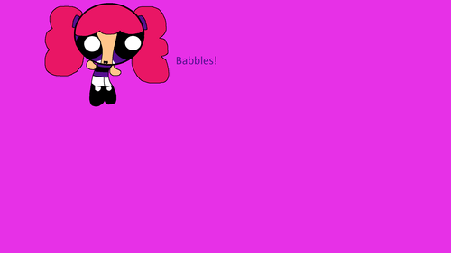Powerpuff Girls wallpaper entitled Babbles