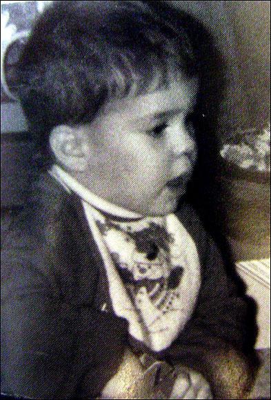 Baby Michael Phelps
