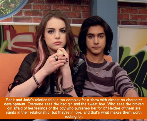 Victorious wallpaper possibly containing a portrait and anime called Bade Confession