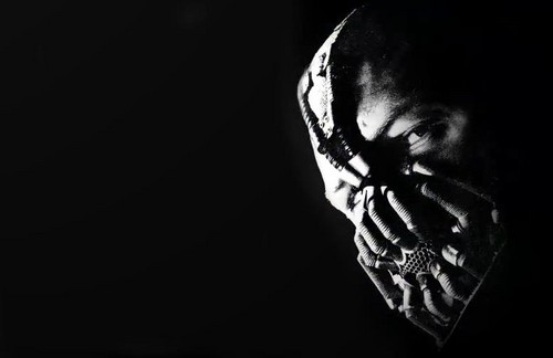 Tom Hardy wallpaper possibly with a concert called Bane The Dark Knight Rises