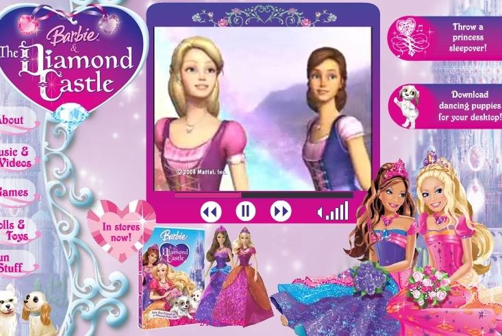 barbie and the diamond castle.