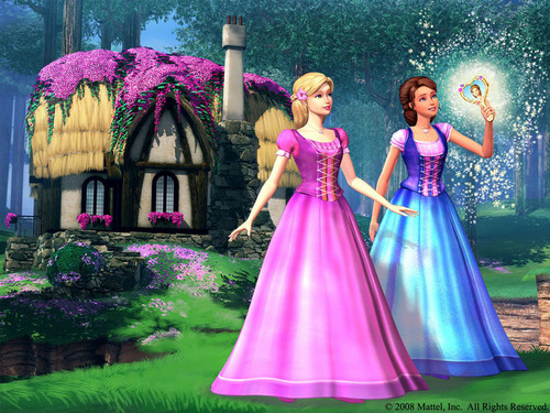 Barbie And The Diamond istana, castle