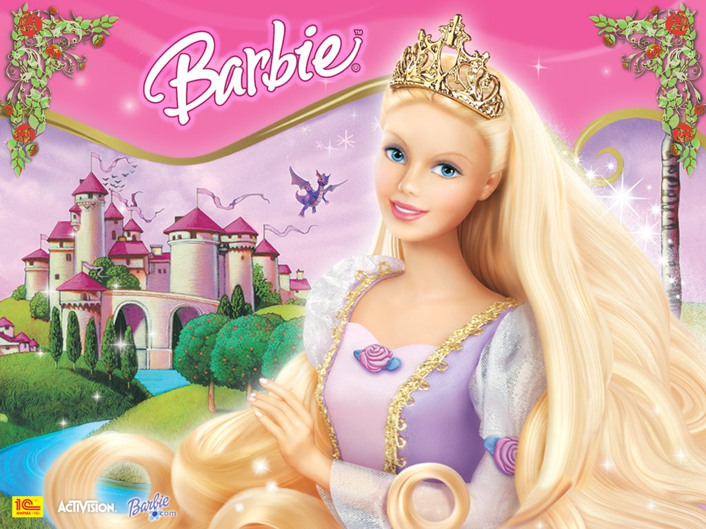 Barbie as rapunzel barbie princess wallpaper 31680948 - Barbie princesses ...