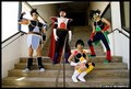 Bardock cosplay - bardock-and-king-vegeta photo