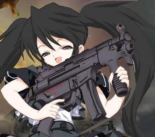 Becca got a new gun