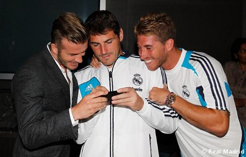 Beckham,Casillas and Ramos