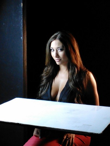Behind the scenes with Lacey Marie