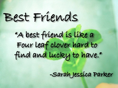 Best Friends..